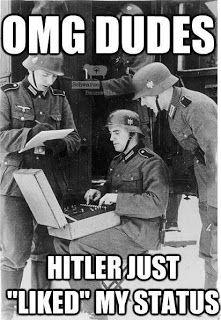funny german facebook hitler like status joke meme picture