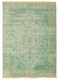 Maharani - Green rug 140x200
