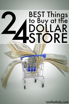 Not everything at the dollar store is a great deal, but many things are. Check out this list of 24 AWESOME buys at the dollar store! - Diy Home Decor Dollar Store Ways To Save Money, Money Tips, Money Saving Tips, Store Hacks, Shopping Hacks, Dollar Store Crafts, Dollar Stores, The Dollar Store, Vida Frugal