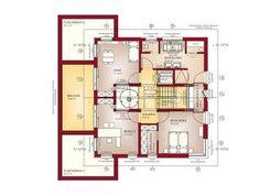Musterhaus CONCEPT-M 210 Günzburg, DG House Extension Design, Extension Designs, House Design, Atrium, Plans Architecture, Good House, River House, House Extensions, Modern House Plans