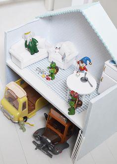 Dollhouse for the boys!