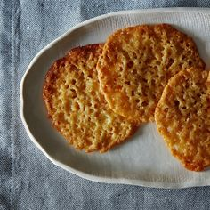 Buttery Lemony Lace Cookies on Food52