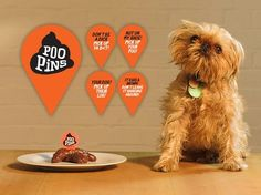 awesome Poopins - Biodegradable Canine Poop Markers
