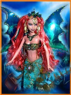 Mermaids, OOAK Mermaids, Mermaids Dolls, Mermaid Barbies, One of a kind Mermaids