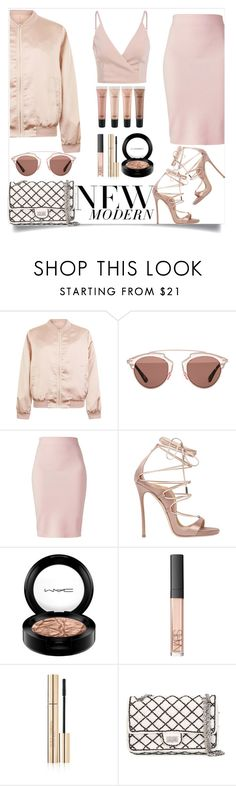 """Matching Style"" by tamaramanhardt ❤ liked on Polyvore featuring Cameo Rose, Christian Dior, Winser London, Dsquared2, MAC Cosmetics, NARS Cosmetics, Dolce&Gabbana and Chanel"