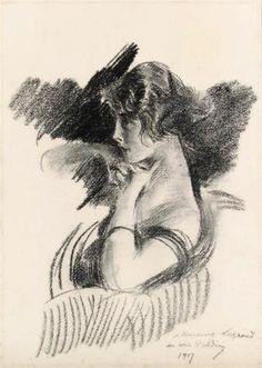 Portrait of a Girl - Giovanni Boldini