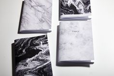 www.paperosa.pl  marble notebooks notepads