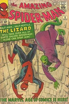 Amazing Spider-Man #6  First appearance of The Lizard