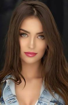 Lovely Eyes, Most Beautiful Faces, Beautiful Lips, Beautiful Women Pictures, Beautiful Girl Indian, Beautiful Girl Image, Hair And Beauty, Beauty Full Girl, Beauty Women