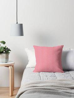 Chevron cushion Pink chevron cushion pink throw pillow