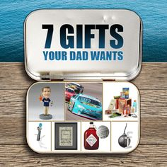 Gifts Dad Really Want, and no, ties are not on this list! http://blog.gifts.com/gift-trends/7-gifts-your-dad-actually-wants#