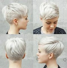 Today we have the most stylish 86 Cute Short Pixie Haircuts. We claim that you have never seen such elegant and eye-catching short hairstyles before. Pixie haircut, of course, offers a lot of options for the hair of the ladies'… Continue Reading → Short Pixie Haircuts, Pixie Hairstyles, Short Hair Cuts, Cool Hairstyles, Short Hair Styles, Pixie Cuts, Haircut Short, Pixie Styles, Poxie Haircut