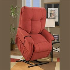 Lift Chairs  •Tufted back design   •3-position recline  •Low volt motor  •Backlit hand control   •Leg extender hardware available   •Heat & Vibrator options available   •Full chaise pad standard
