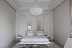 Stunning all white bedroom