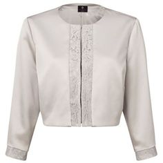 6670cb2f0ebf Ariella Carine Lace Trim Jacket