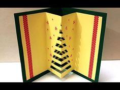 DIY Christmas Crafts :  How to Make Handmade 3D Pop-up  Christmas Card | Easy DIY X-mas Card