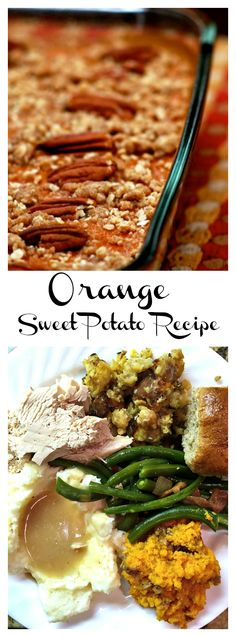 """Last minute Thanksgiving tips so you can enjoy """"the day"""" with Orange Sweet Potato recipe."""