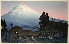 ハンガギャラリー。 。 。 鳥居ギャラリー:高橋記念による水中の富士