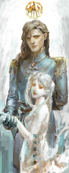 Kaladin & Syl by angel1802