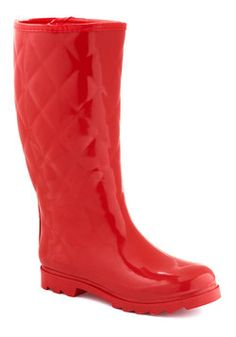 Splash Hurrah Rain Boot in Red, #ModCloth