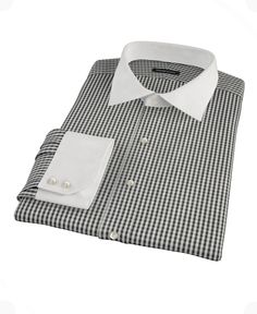 Small Black Gingham by Proper Cloth