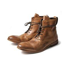 SWATHMORE CALF TAN MENS BOOTS
