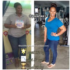 Jovanka lost 81 pounds | Black Weight Loss Success