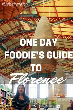 Here's a guide to help you discover Florence's food in one day with breakfast at the market, lunch at Mario's and dinner with a view of The Ponte Vecchio. by www.talesfromafork.com