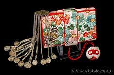 日本刺繍の筥迫