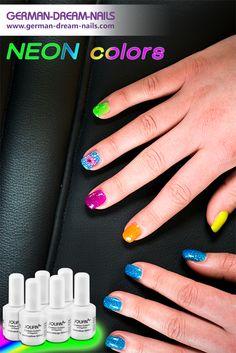 Jolifin Carbon Colors Neon-Glitter – knallige UV-Lacke mit Glitzer für nur 4,90€ Hier bestellen: http://www.german-dream-nails.com/UV-und-Nagellacke/Jolifin-Carbon-Colors/Carbon-Nagellack-glitter-shiny #jolifin #naildesign #neon