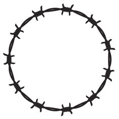 Have you ever wondered what a barbed wire tattoo signifies? We'll tell you all you need to know about the barbed wire tattoo meaning. Barbed Wire Drawing, Barbed Wire Tattoos, Barbed Wire Wreath, Foto Gif, 3d Texture, Flash Art, Tattoo Sketches, Tattoos With Meaning, Design Reference