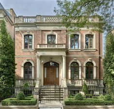 Best Custom Home Builders in Illinois Architecture Résidentielle, Classic Architecture, New Classical Architecture, Custom Home Builders, Custom Homes, Style At Home, Building Design, Building A House, Greek Revival Home