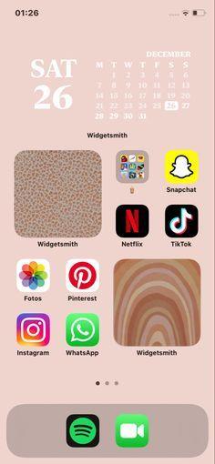 Iphone Wallpaper App, Aesthetic Iphone Wallpaper, Ios App, Homescreen, Aesthetic Bags, Ios Update, Iphone App Layout, New Ios, Phone Organization