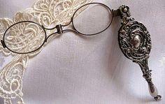 Beautiful hand-held glasses