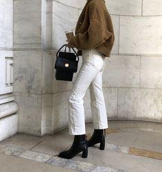 Paris, Prada, Pearls, Perfume - Winter Outfits for Work Mode Outfits, Chic Outfits, Fashion Outfits, Fashion Trends, Jeans Fashion, Fashion Ideas, Sweater Fashion, Fashion Tips, Fall Winter Outfits
