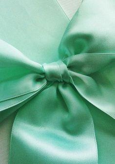Color Verde Menta - Mint Green!!! Bow