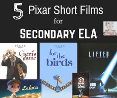 5 Pixar Short Films to Use in Secondary ELA — The Bespoke ELA Classroom