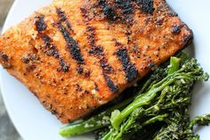 A photo tutorial on how to grill salmon with the skin on. Follow the easy tips and tricks for a super easy and delicious way of cooking salmon.