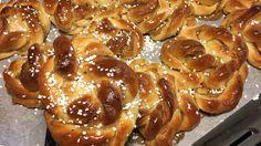 Bästa receptet: Kanelbullar med kardemumma - Recept - Stowr Fika, Pretzel Bites, Tart, French Toast, Bread, Breakfast, Recipes, Glass, Bakken