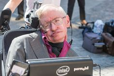 Stephen Hawking, outside the KTH Royal Institute of Technology in Stockholm in 2015, says he has a way to escape from a black hole.