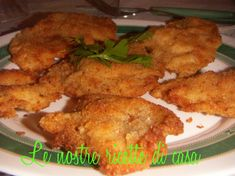 Cotoletta di pollo panata... stessa ricetta anche per pollo fritto