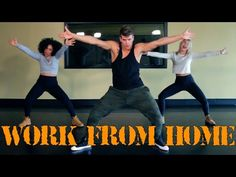 Work From Home - The Fitness Marshall - Cardio Hip-Hop - YouTube