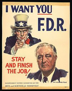 James Montgomery Flagg - for FDR