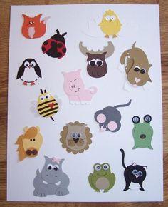 Tiere aus Eulen