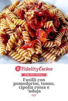 Fusilli, Pasta Salad, Entertaining, Cooking, Ethnic Recipes, Food, Crab Pasta Salad, Kitchen, Essen