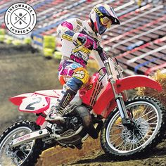 Back in '92 with Jeff Stanton in LA for SX! #throwbackthursday #tbt #axoracing
