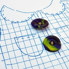 Art with Kids: How to Make Buttons with Polymer Clay