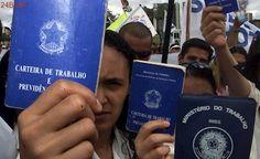 Brasil fechou 40.864 vagas de trabalho com carteira assinada em janeiro