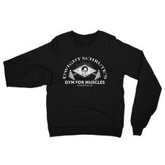 bc55a4ed Dwight Schrute's Gym for Muscle Unisex Sweatshirt | American Apparel Office  Tv Show, The Office