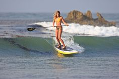 Enjoy the ocean paddling on top of it! Catching waves is easier than you think!